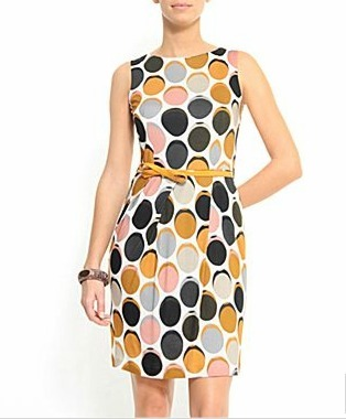 This MNG by Mango dress is also to die for. Seriously, you should check out this collection! (MNG by Mango Belted Dress, $79, JC Penney)