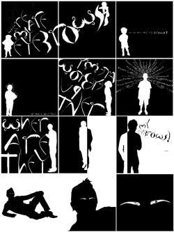 Narrative Project- organising sequences to produce imaginative motion graphic design.