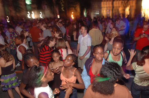 Thousands expected for Cambridge Dance Party Friday night - About 5,000 to 6,000 people filled the avenue in front of Cambridge City Hall for last year's dance party, said city spokeswoman Ini Tomeu. A portion of Massachusetts Avenue in Central Square will be closed Friday night as thousands of people are expected to attend the city's annual Dance Party.