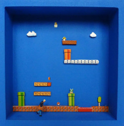 it8bit:  Box Stories: Miniature Video Game Vistas // Artist: Gatz Click to view more Box Stories (via:awkwardgamer)