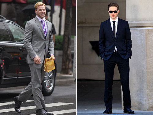 It's a battle of the suits! Which Twilight hottie looks better suited up?