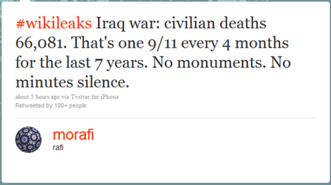 helptheweak:  WikiLeaks: Iraq War