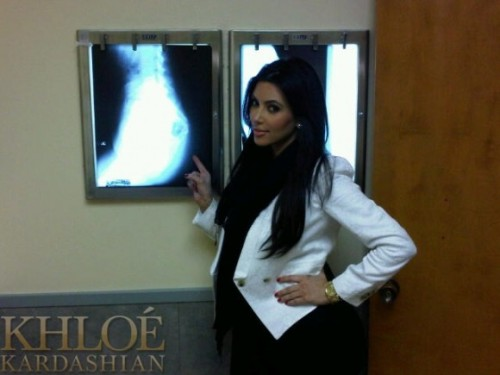 "dylanzarate:  Kim Kardashian got an X-Ray of her ass to show that it's real.  ""that's hot"""