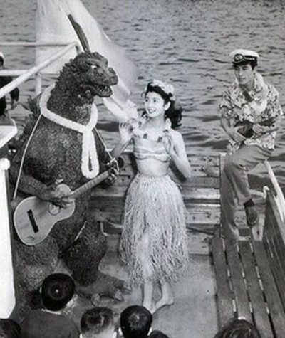 drpretorius:  Godzilla plays a mean guitar!