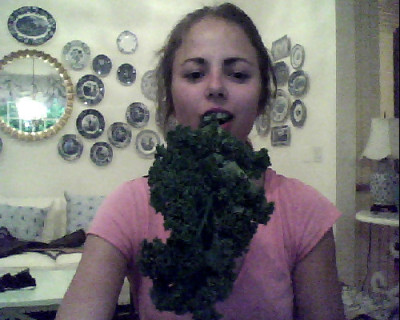 oh, i lied. it was kale.I FUCKING LOVE KALE