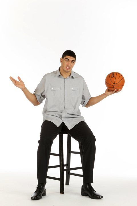 With the #3 pick, the Utah Jazz select Meme Okur Enes Kanter. This dude's first shout out after getting drafted was to the University of Kentucky, a team he didn't play for.  @Suga_Shane