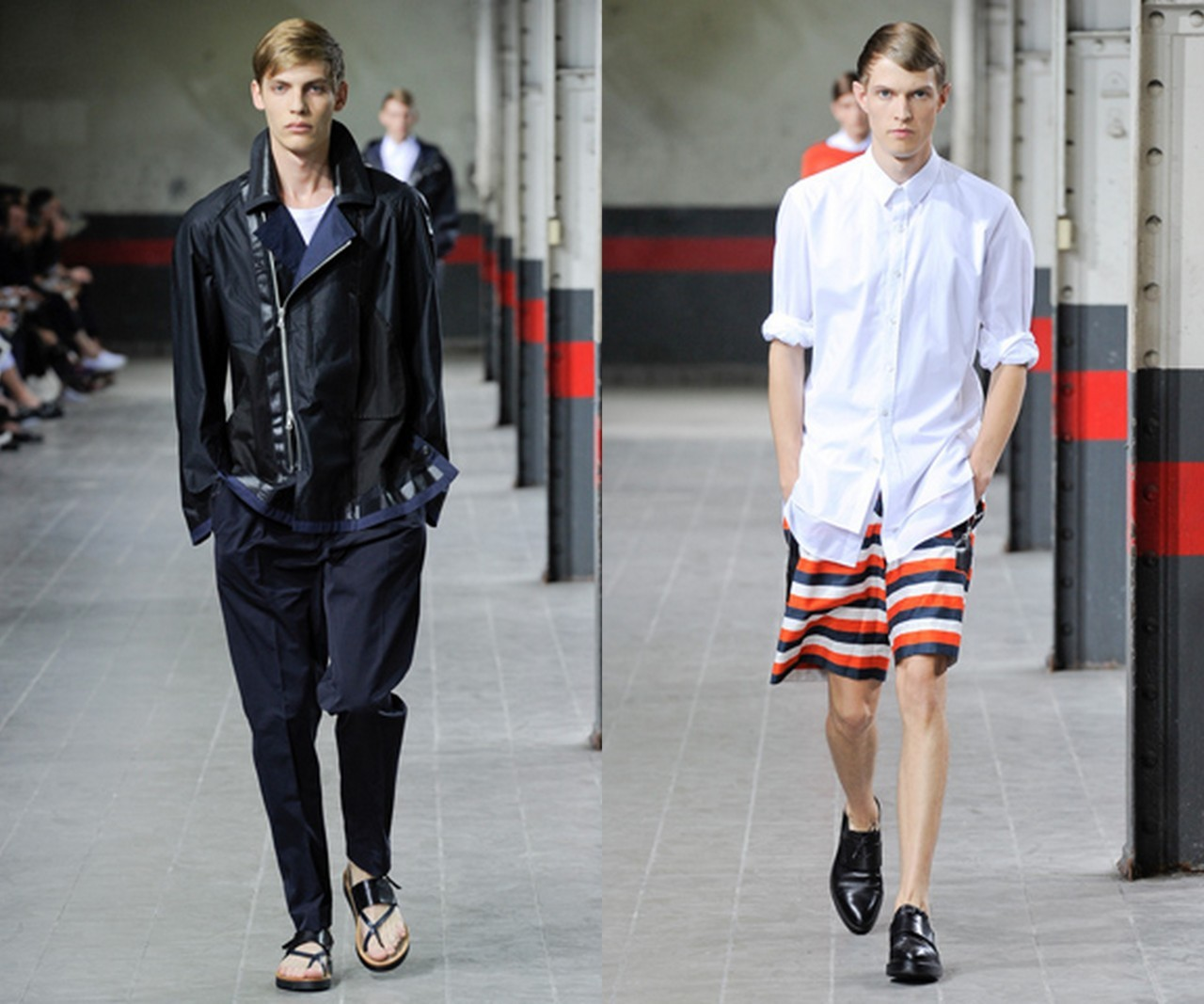 Dries Van Noten Menswear Spring 2012 One of the best menswear collection this year. I mean…so good. More than good. Genius.The form, the look, the taste, the refinement, the challenging ideas, the fabric. Just… There is a deficit of words available to describe this immaculate perfection.