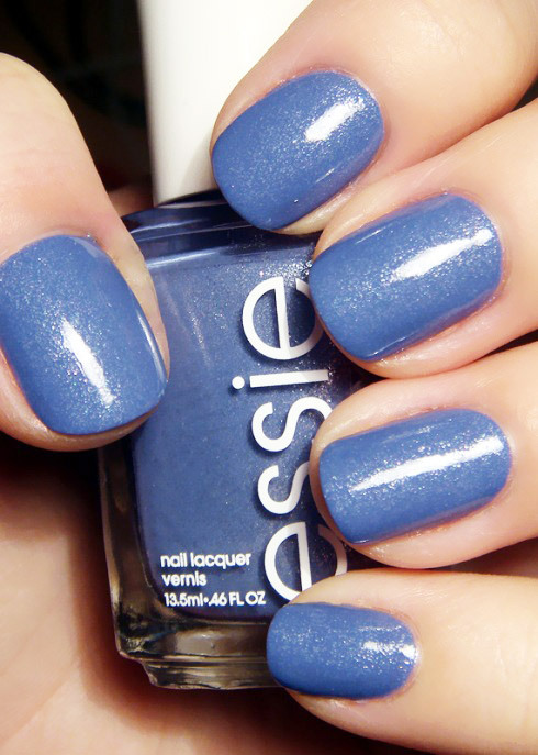 "We love all the colors from Essie's Braziliant Collection; this one is ""Smooth Sailing."" Which is your favorite shade? (image via the lacquer log)"