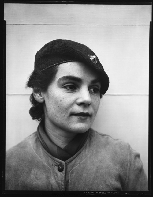 walker evans - mary churchill in cloche hat, bedford, new york, 1931