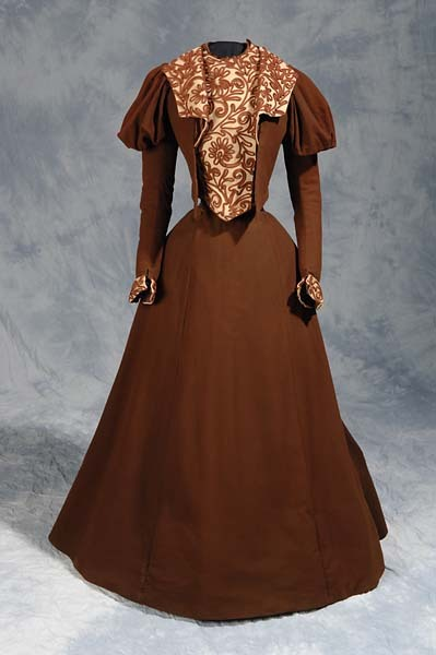 Dress, ca 1890, the North Carolina Museum of History