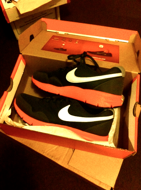 freshhh can't wait to break these in tomorrow morning :)