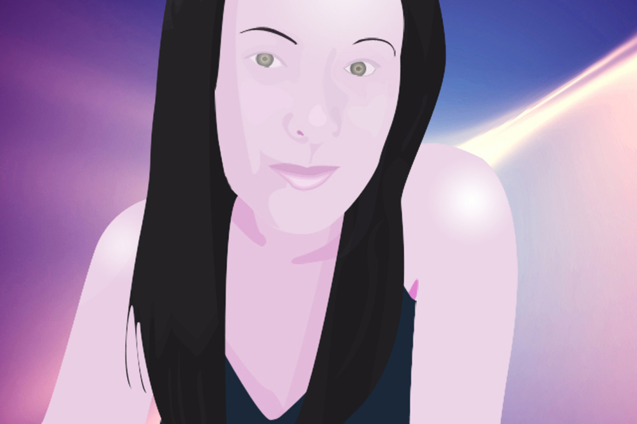 vector art of my pretty ate June 2011