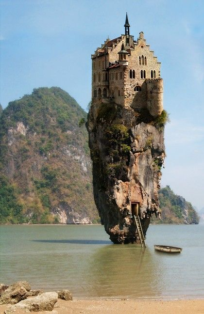 Places / Dublin, Ireland... Castle house Island- I WILL see this when I'm there!