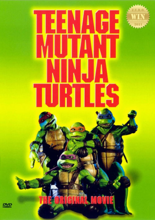 "Teenage Mutant Ninja Turtles (1990) A quartet of humanoid turtles trained by their mentor in ninjitsu must  learn to pull together in order to face the menace of Shredder and the  Foot Clan. Based on the comic book by Kevin Eastman and Peter Laird. Does anyone remember this? PIZZA!!! = The beginning of an obsession. An action packed live action action 'toon come to life. With Kung Fu, slang words, skateboards and mutated heroes. Radical!!! Those darn memorable green dudes. At the time THIS was the best of the best, costume wise. The animatronic heads were a marvel. The voices were different from the famous cartoon, but we (kids) didn't seem to mind. Looking at it now i commend the men in ""suits"", bet it was hell getting those moves down. Woah i totally missed -Corey Feldman voiced Donatello?!?!? I remember that Elias Koteas was perfect as Casey Jones. The girl who played April O'Neil was a let down, nowhere near ""hot"" or ""cute"". TRIVIA: This was the highest-grossing independent film of all time, having made over $133 million in domestic box office. Cheesy as pizza! I will never forget the line ""Ninja, Vanish!"" and Tatsu's growling/grunting. The animation and toys helped skyrocket these turtles to international infamy. Who didn't have a turtle item in their home? During the late 80s and early 90s it was all about turtle power. I am proud to have been part of a generation who grew up with ""non conventional"" looking heroes. They ain't pretty boys, but they sure are ""cool"". Which makes this one of the successful comic book movies of the time. An era of awesomeness!"