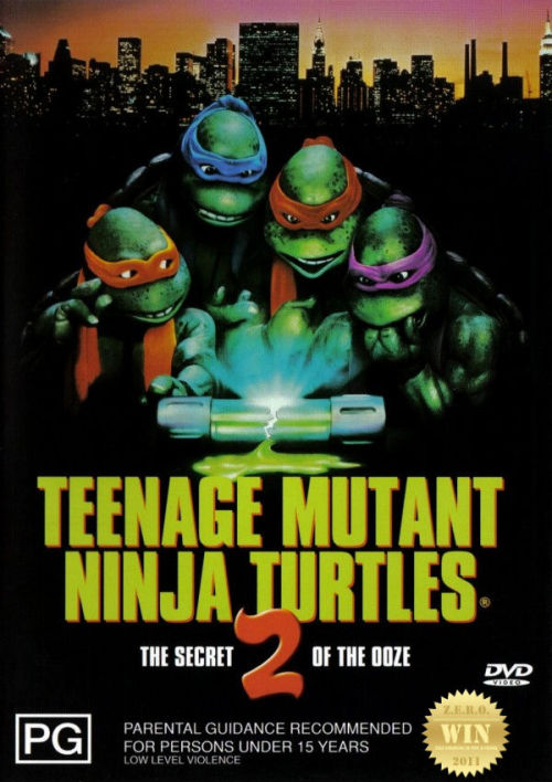 "Teenage Mutant Ninja Turtles II: The Secret of the Ooze  (1991) The Turtles and the Shredder battle once again, this time for the last  cannister of the ooze that created the Turtles, which Shredder wants to  create an army of new mutants. ""Cowabunga dudes!!!"" The heroes in a half shells are back for some more tubular action and radical laughs! A couple of changes and additions to the franchise. Watching this again made me realize this had lots more to offer ""the youth"" than the first movie. I loved how the whole opening sequence focused on PIZZA! Lessons! The whole ""doesn't matter how you were brought to the world, it's what you make of yourself"", ""finding one's destiny"", ""not to give up"" and ""the gift of youth and the value of experience"". These were nice touches to the film, giving it a positive light. The Turtles fight the evil nasty dudes, led by a resurrected Shredder. Part 2 involves the ""Ooze"" which mutated the Turtles and Splinter, into awesome! Evil creates Tokka and Rahzar, characters made by the original creators Kevin Eastman and Peter Laird, which disappointed fans of the cartoon series. What happened to Bebop and Rocksteady?!?  What i enjoyed was the separation of Rafael from the group, in the comics the dudes a badass rebel. Who goes out at night as a (solo) vigilante a lot. I suggest checking out the violent TMNT comic books. The fights were slightly improved and the gangs were still lame. Paige Turco was a better/hotter April O'Neil! Mad scientist ""legend"" David Warner does what he does best. And Ernie Reyes Jr. begins his journey into the spotlight. Holy fuck Vanilla Ice!!! ""Go ninja, Go ninja, Go!"" - i totally forgot about this part. And upon doing some research i found out WWE/wresting superstar Kevin Nash was Super Shredder. Dedicated to the memory of ""Puppet Master"" Jim Henson. Teenage Mutant Ninja Turtles III  (1993) was just too kiddie for me. TMNT (2007) was a good attempt at bringing them back, but CGI just didn't do it for me. What i am excited for is the ""possible/rumored"" comeback of the Teenage Mutant Ninja Turtles (2012)."