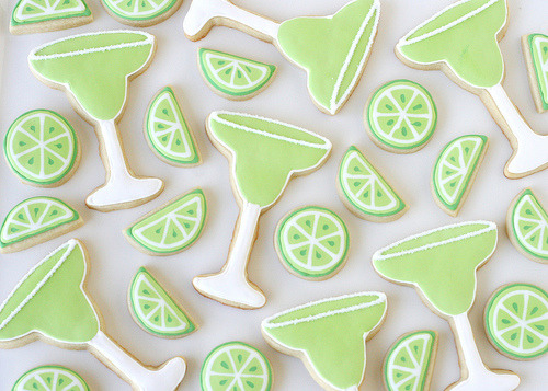 Margarita Cookies (by Glorious Treats)