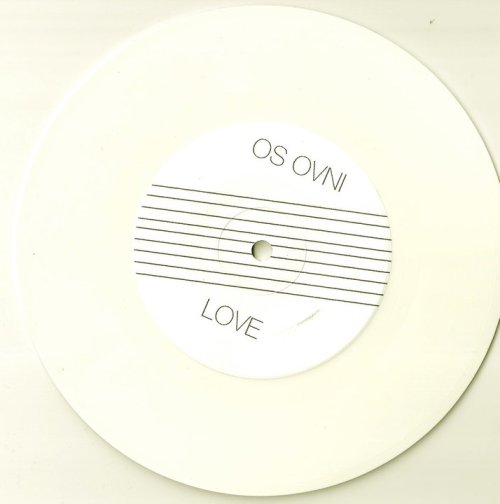 "°º¤ø♥♪♫♪♪Os OVNI split 7"" with Modern Witch ¤ø♥♪♫♪♪ø¤º °º¤♥heavenly white vinyl…minimal line design by Mario Zoots… on Tundra: http://tundradub.bandcamp.com/album/love-desire"