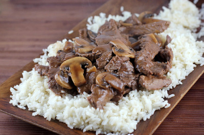 Chinese Beef with Mushrooms Recipe Recipe