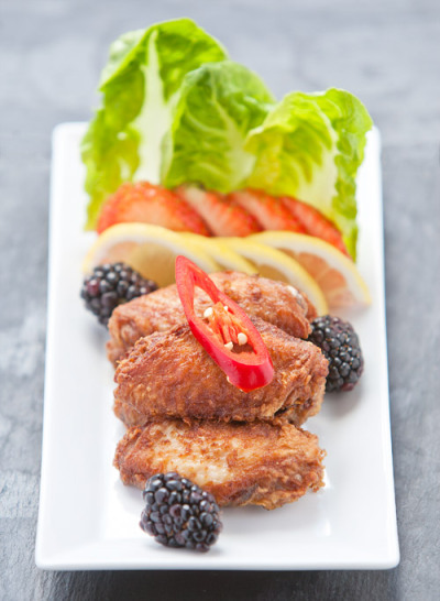 Chinese Style Deep Fried Chicken Wings Recipe