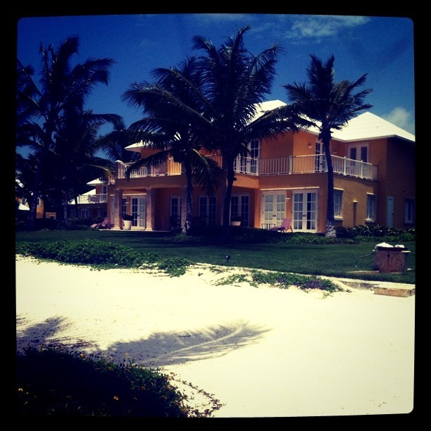 the villas at Tortuga Bay were designed by Mr de la Renta. (Taken with instagram)