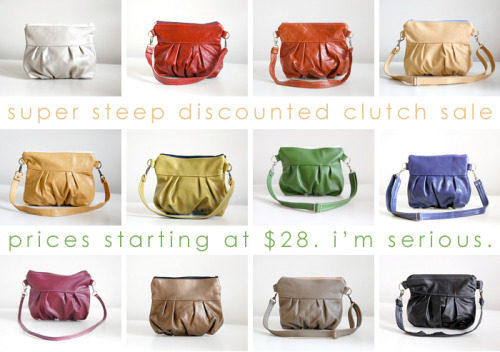 Jenny N. Designs, one of my favorite bag companies, is having a HUUUUGE SALE! Check it out!