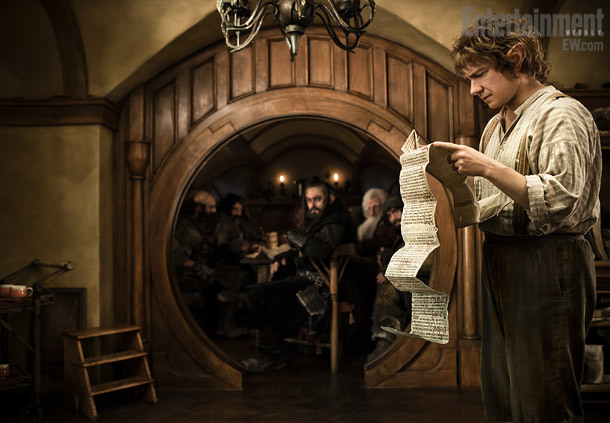 El primer vistazo a Martin Freeman en The Hobbit.  The Hobbit: Part 1