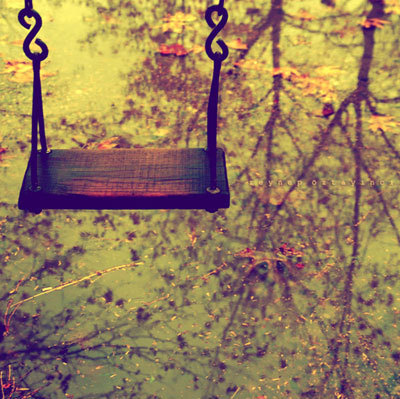 Swing. It always makes you feel better.