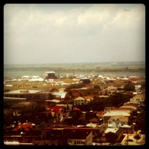 #DMBcaravan grounds from the Chelsea.  (Taken with instagram)
