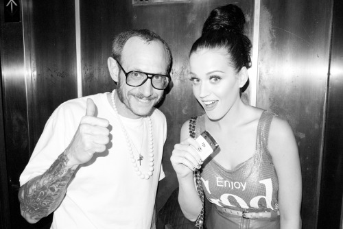 Me and Katy Perry after our shoot.