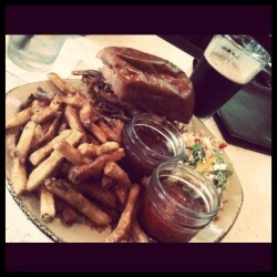 Pulled Pork Sandwich - OMG I am so full… (Taken with instagram)