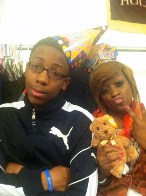 , my Bro and I for New Yearsss . i love himmm <3