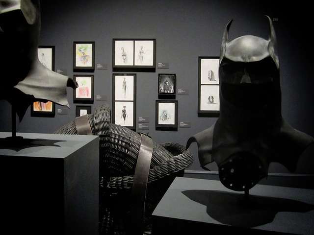 Tim Burton at LACMA
