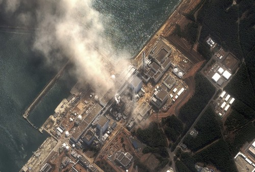 "mohandasgandhi:  What Happened to Media Coverage of Fukushima?  While the U.S. media has been occupied with Anthony Weiner, the  Republican presidential candidates and Bristol Palin's memoir, coverage  of Japan's Fukushima Daiichi nuclear power plant disaster has practially  fallen off the map. Poor mainstream media coverage of Japan's now  months-long struggle to gain control over the Fukushima disaster has  deprived Americans of crucial information about the risks of nuclear  power following natural disasters. After a few weeks of covering the  early aftermath of Japan's earthquake and tsunami, the U.S. media moved  on, leaving behind the crisis at Fukushima which continues to unfold.  U.S. politicians, like Rep. Joe Barton of Texas, have made disappointing and misleading statements about the relative safety of nuclear power  and have vowed to stick by our nuclear program, while other countries,  like Germany and Italy,  have taken serious steps to address the obvious risks of nuclear power  — risks that the Fukushima disaster made painfully evident, at least to  the rest of the world. News outlets in other countries have been paying attention to  Fukushima, though, and a relative few in this country have as well. A  June 16, 2011 Al Jazeera English article titled, ""Fukushima: It's much worse than you think,"" quotes a high-level former nuclear industry executive, Arnold  Gunderson, who called Fukushima nohting less than ""the biggest  industrial catastrophe in the history of mankind."" Twenty nuclear cores  have been exposed at Fukushima, Gunderson points out, saying along with  the site's many spent-fuel pools, this gives Fukushima 20 times the  release potential of Chernobyl. […] For Americans who think ""out of sight, out of mind"" or ""it can't happen  here"" when it comes to Fukishima and its ramifications, think again. Janette Sherman, M.D.,  an internal medicine specialist, and Joseph Magano, an epidemiologist  with the Radiation and Public Health Project research group, noticed a  35% jump in infant mortality in eight northwestern U.S. cities located within 500 miles of the Pacific coast since the Fukushima meltdown. They wrote an essay, published by CounterPunch,  suggesting there may be a link between the statistic and the Fukushima  disaster. They cited similar problems with infant mortality among people  who were exposed to nuclear fallout from Chernobyl. Sherman and Magano  urge that steps be taken to measure the levels of radioactive isotopes  in the environment of the Pacific northwest, and in the bodies of people  in these areas, to determine if nuclear fallout from Fukushima could,  in fact, be related to the spike in infant mortality.  (Read more)  [Image via]"