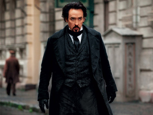 (via First Look: John Cusack as Edgar Allan Poe in 'The Raven' — EXCLUSIVE - EW.com)
