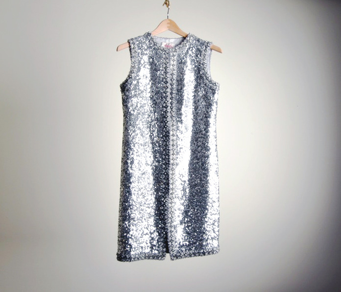 1960s sequin mini dress