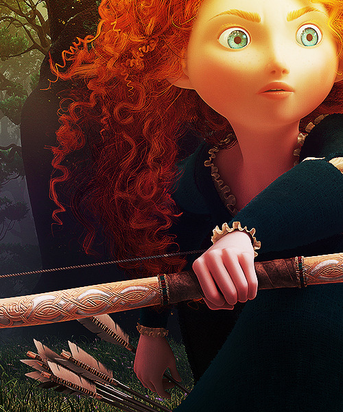 "roxanneritchi:  delladilly:   Princess Merida | Brave (2012)  ""She's a feisty one. All she wants to do is ride her horse and get lost in the forest… Not your typical Disney princess.""  #that said: HUSH. she's not the first ~feisty disney princess by a long shot let's not start with that #i get a little sensitive about pitting disney ladies against each other i admit  ^!!!!! Oh, my God, I am so, so goddamn tired of the writers and artists and execs and the fans constantly pitting Disney ladies against each other, like, OH SHE'S NOT LIKE THOSE OTHER DISNEY PRINCESSES—like, what the fuck's wrong with Tiana? What the fuck's wrong with Mulan, or Aurora, or Jasmine, or Belle? Why the hell do we have to tear every single lady down to lift another lady up? Why can't we celebrate ALL the ladies? And if you've got a problem, as I have many problems, with their respective narratives—like, seriously, Snow White and the Seven Dwarves is fucked up, and as much as I love The Little Mermaid, HA HA OH BOY, WHERE DO I EVEN START—don't take it out on the ladies! Break down why the NARRATIVE does wrong by her. (And remember, too, that the Disney Princesses narrative is distinct from each princess' individual narrative. Like, remember when Enchanted came out and everyone was all HA HA WHAT A CLEVER PARODY OF THE DISNEY PRINCESS! except that was a parody of the brand which largely strips away individual personality to celebrate a particular confining form of femininity, which, while that form of femininity in and of itself is not a bad thing, by virtue of excluding other expressions of femininity or masculinity by women contributes to an overarching cultural narrative which is very, very problematic … and still is not representative of the actual princesses in question.) And just ftr, let's all take a moment to respect how different ladies have different interests, and if a lady prefers reading to fighting or fighting to embroidery or embroidery to reading, that's her business and it ain't any of yours. So back the fuck off. AIN'T NO WRONG WAY TO BE A GIRL. That said, I am super excited for Brave and Merida needs to get into my life already.  Thank you, mem."