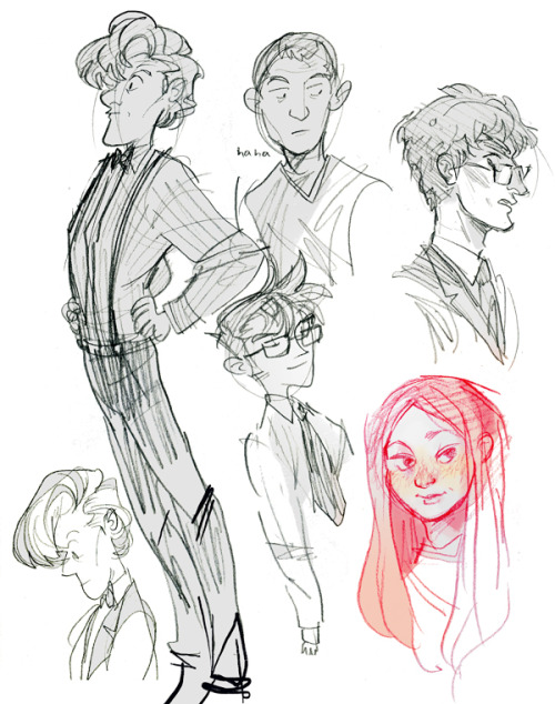 here are some scribbles