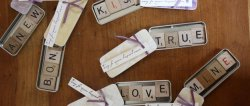 Scrabble Magnet Favors, get tutorial!