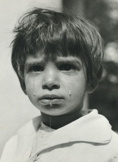 Werner Bischof Girl crying, Haydúhadház, Hungary, 1947 From Werner Bischof Pictures Thanks to liquidnight