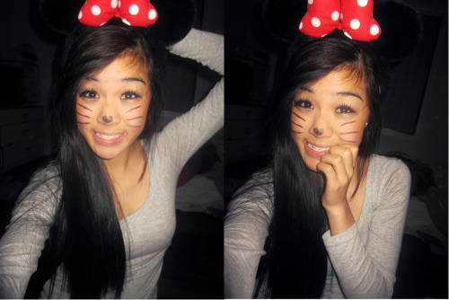 paperscissorsrockrawr:  Minnie Mouse x)