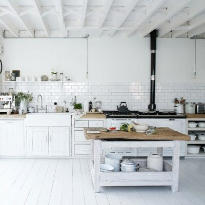 sea-bears:  I'd love this kitchen.