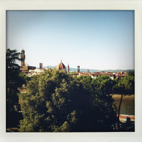 view from hotel (Taken with Instagram at Florence, Italy)