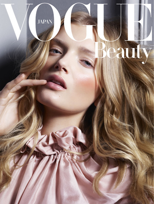 Lily Donaldson | Vogue Japan Beauty