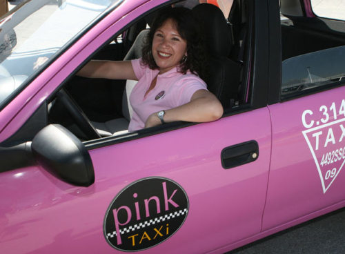 "badethnography:  Mexican Town Launches Women-Only ""Pink Taxis"" to Undercut Super-Creepy Cabbies It turns out that some of the male taxi drivers in Puebla, Mexico are pigs. It might even be the case that most have boundary issues when it comes to their female passengers,   indulging in constant leering, harassing, and propositioning. So the   city invested some money and, following the lead of other municipalities   all over the world, created a fleet of women-only Pink Taxis.  Naturally  this has engendered vociferous objections from some quarters:  ""Some of the woman who have been on board tell us how male taxi  drivers  cross the line and try to flirt with them and make  inappropriate  propositions,"" said taxi driver Aida Santos… ""In the Pink  Taxi they  won't have that feeling of insecurity, and they feel more  relaxed.""…  Women's rights activists are aghast at the cars' sugary  presentation and  said the service does not address the root of the  harassment problem.  ""We are in the 21st century, and they are saying  women have continued  worrying about beauty and nothing more,"" said  Vianeth Rojas, of the  Network for Sexual and Reproductive Rights in  Puebla. ""They are absolutely not helping eradicate violence against women.""  They've already got Pink Taxis in Bangkok. In Moscow – where the problems go way beyond   harassment, up to and including semi-regular rapes and murders – a   private entrepreneur launched a Pink Taxi all the way back in late 2006. The critics who attacked that initiative were a lot more vulgar, throwing around exactly the kind of ""you're all a bunch of lesbians"" nonsense you'd expect. Back in the Mexican context, we find ourselves deeply unsympathetic to the critics. The new Pink Taxi fleet might not be doing much to   ""eradicate violence against women."" It's also not doing anything to,   say, resolve the EU3′s concerns about how Iran's undeclared nuclear   facilities undercut the efficacy of Tehran's agreement with the P5+1. That's not what it's supposed to do. What it's supposed to do – and what it has the potential of doing –   is lift a nagging, grinding worry from the lives of Mexican women who   dread having to get into a cab to go about their daily affairs. It   removes an implicit sexist blackmail: ""withdraw yourself from public   life or volunteer yourself to suffer harassment."" That's a fine start.   Let's not hold the good hostage to the perfect.  YES TO THIS."
