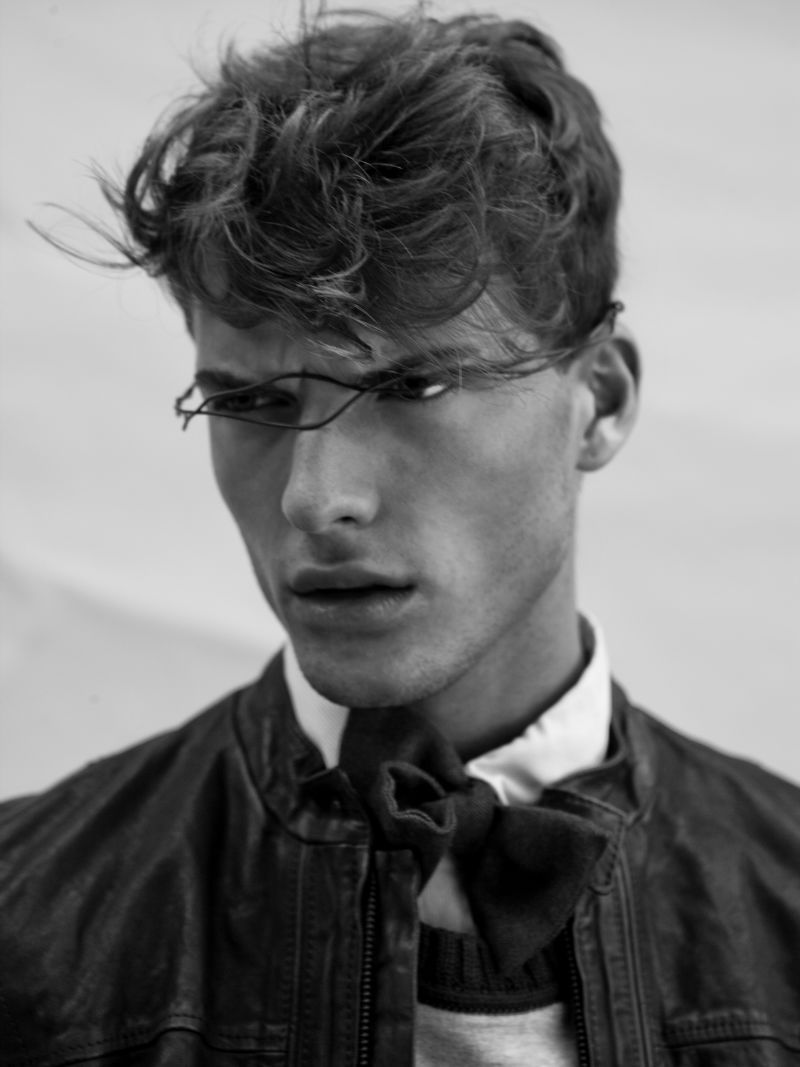 fuckyeahnikolajovanovic:  Nikola Jovanovic by Cristina Capucci in State of Mind for The Fashionisto