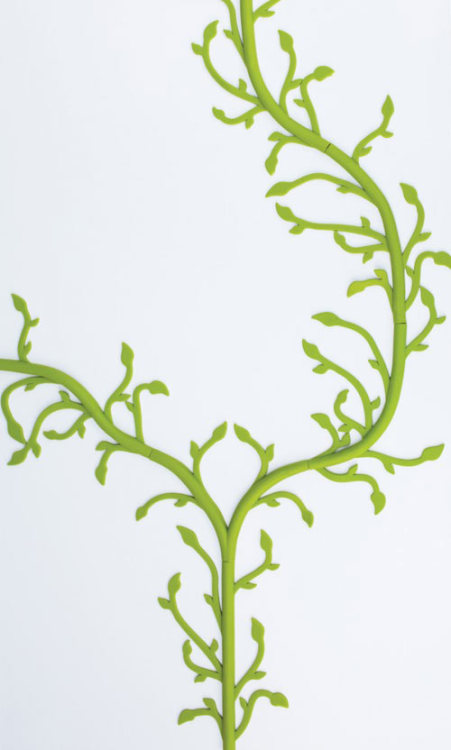 Florafil by Tania da Cruz via Design Milk Remember the DIY cable concealment post I did? Well I wish I had had this to add to it because it sure is pretty! Perfect for a child's room or home office.
