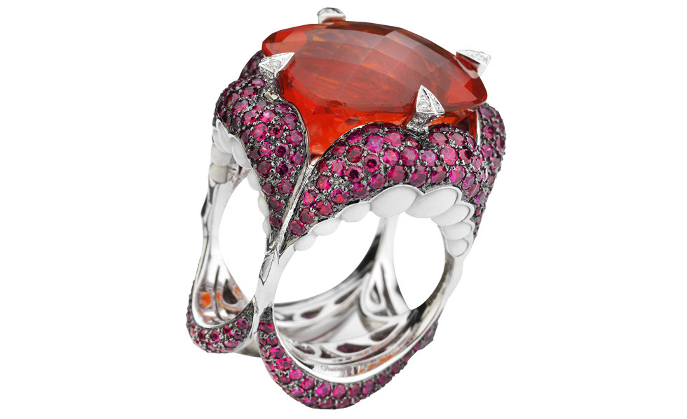 Stephen Websters 7 Deadly Sins rings; Gluttony