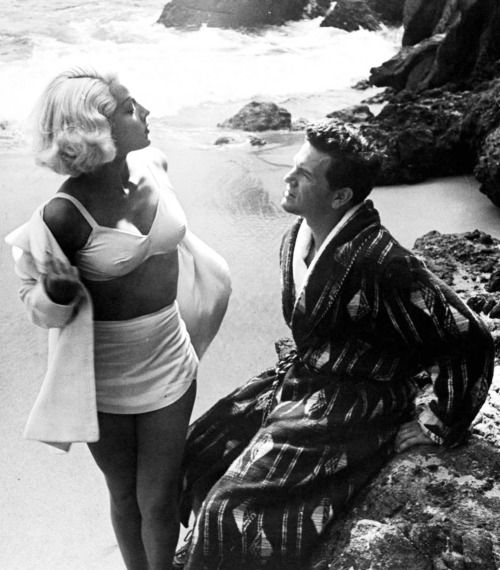 "Lana Turner and John Garfield in ""The Postman Always Rings Twice"" 1946"