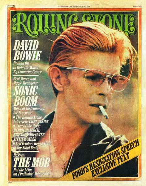 Rolling Stone no. 206 — February 1976, David Bowie