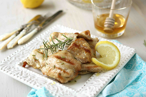 RECIPE: 1. KILL THE CHICKEN 2. GRILL IT 3. PUT A LEMON ON IT  4. GG.